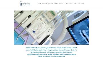 Immagine del sito del Dottor Andrea Zunino