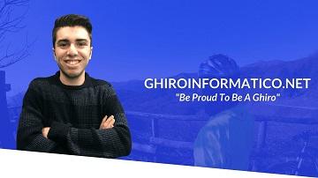 Immagine del sito web di Ghiroinformatico