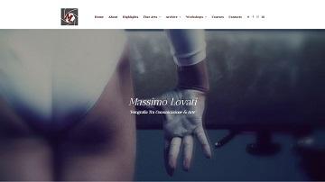 Immagine del sito del fotografo Massimo Lovati
