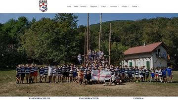 Immagine del sito della squadra di Rugby degli Orsi Province dell'Ovest